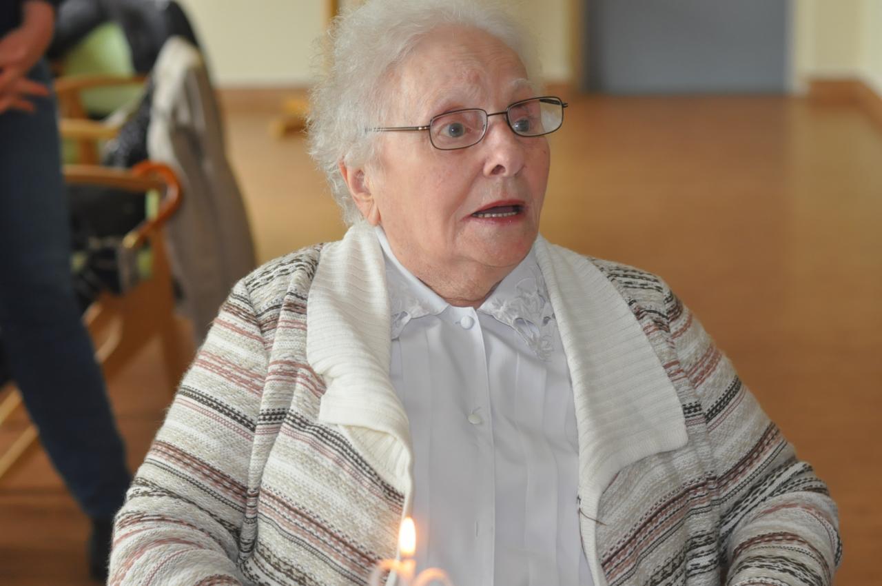 90 ans Gisèle Péligat