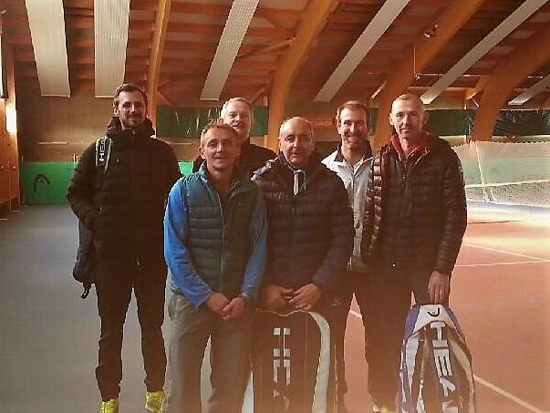 Equipe hommes +35 aux Rousses