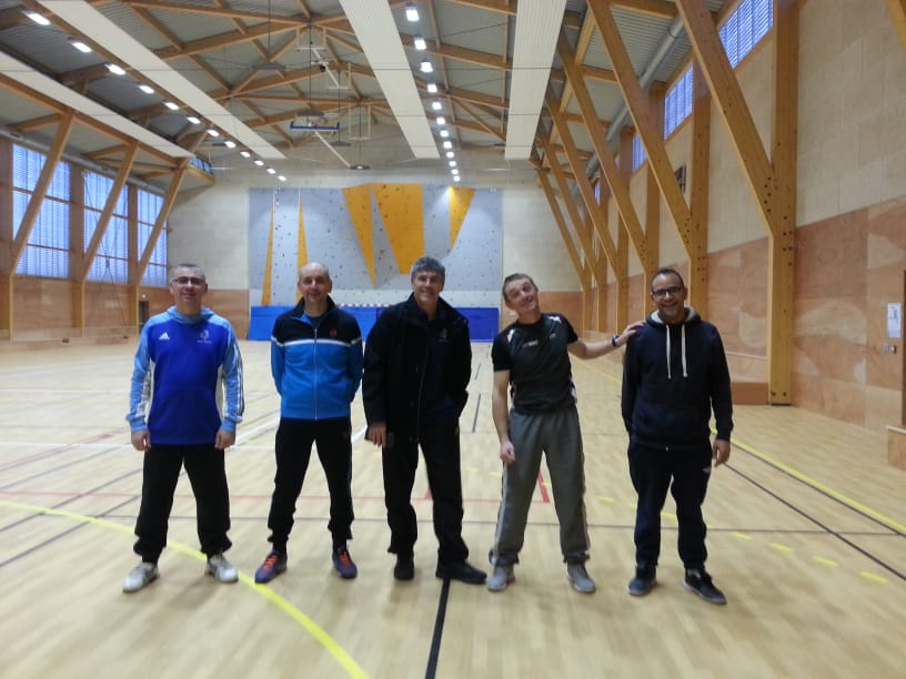 Equipe hommes +35 contre Montmorot