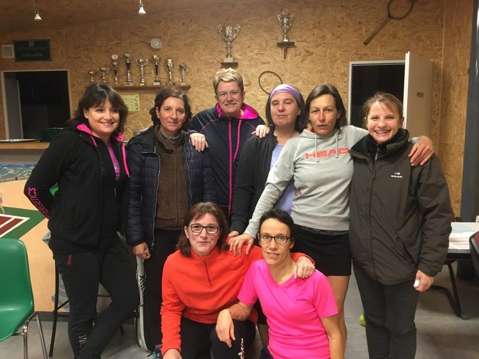 Equipe Femmes +35 à Arbois