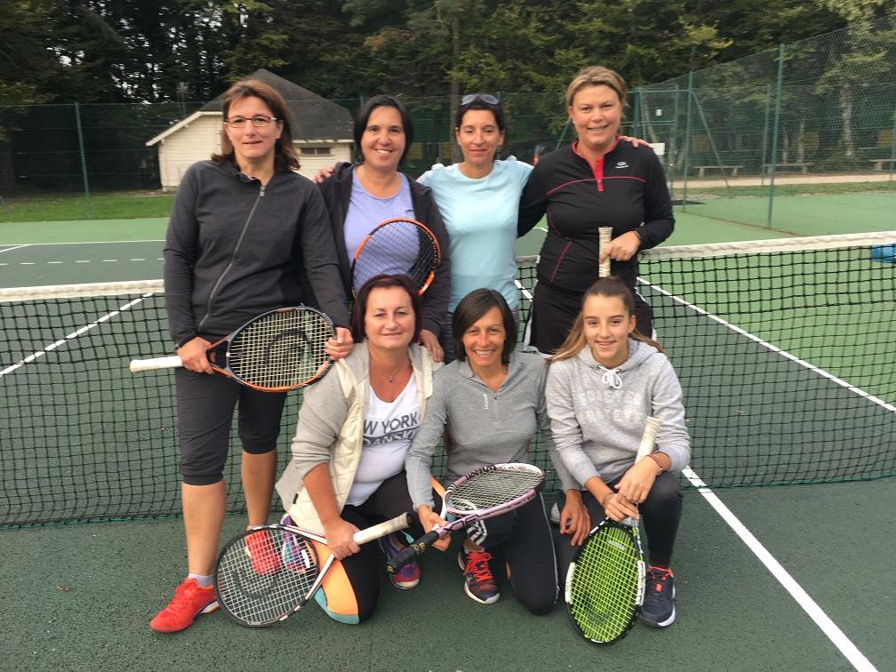 Equipe femmes 2018