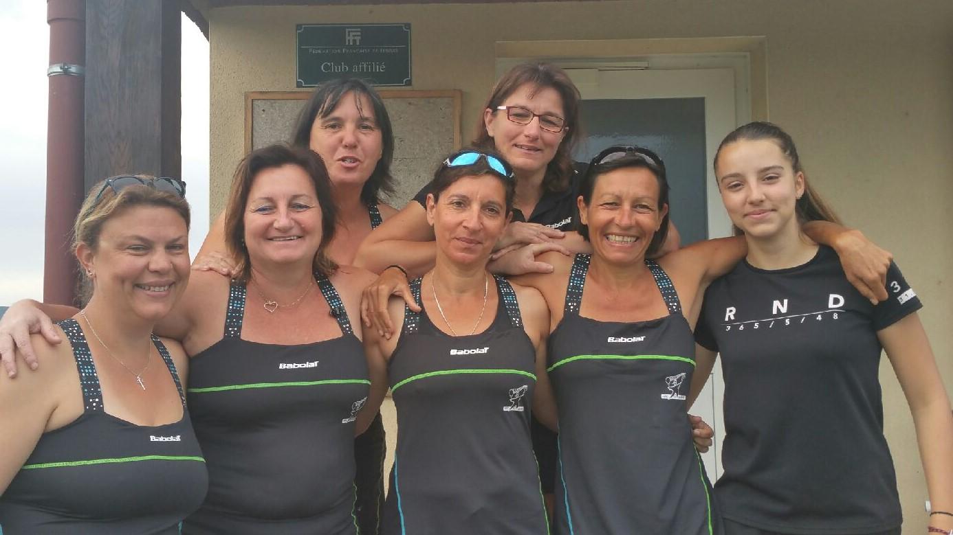L'équipe femmes printemps 2018