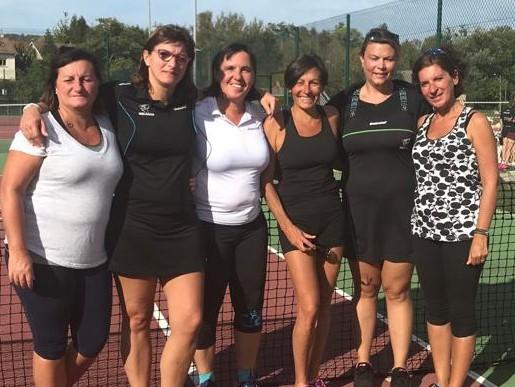 Equipe femmes + 35 ans 2019