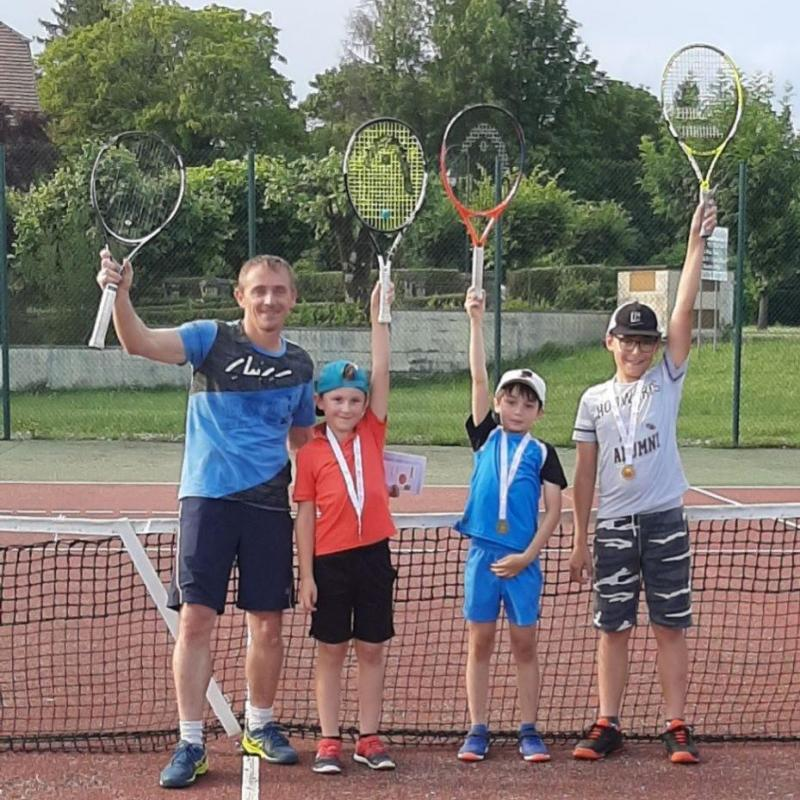 Fin cours école de tennis